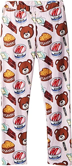 Moschino Kids - Teddy Bear Ice Cream Print Leggings (Infant/Toddler)