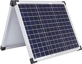 Sun Joe 60-Watt Folding Solar Panel with Cable for SJ1440SP, Black