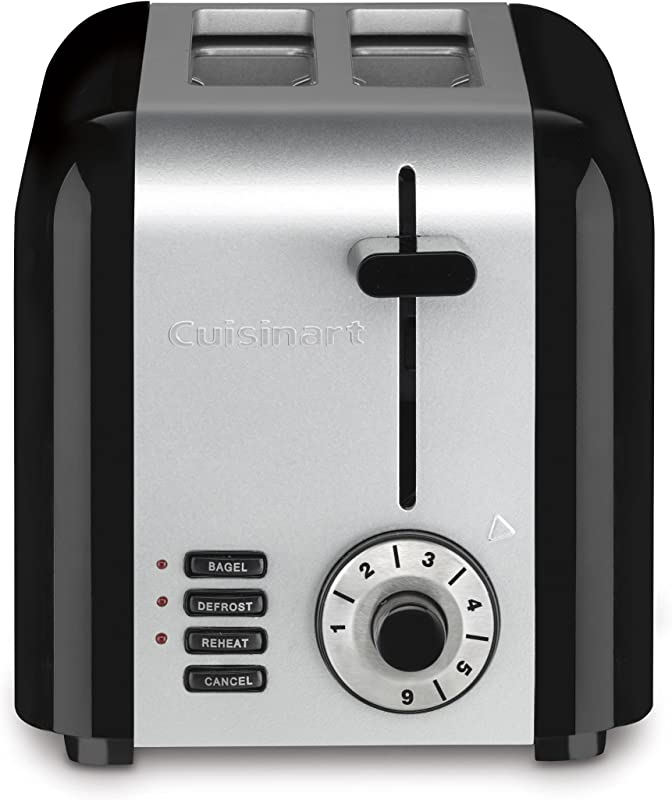 Cuisinart CPT 320 Compact Stainless 2 Slice Toaster Brushed Stainless