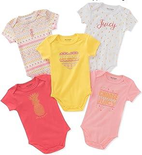 Juicy Couture Baby Girls 5 Packs Bodysuit