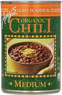 Amy's Chilis, Light in Sodium Organic Medium Chili, 14.7 Ounce