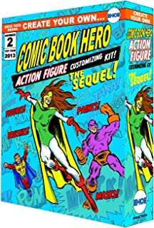 Spherewerx Create Your Own Comic Book Hero Customizing Kit The Sequel Action Figure