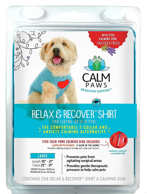 Calm Paws Recovery Shirt, Medium Large
