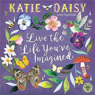 Katie Daisy 2020 Wall Calendar