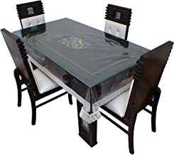 Dream Care Designer Waterproof Table Cover for Dinning Table, 6 Seater (WxL) 52x76 inches