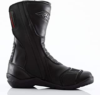 RST 1696 Tundra CE Waterproof Mens Touring Leather Motorcycle Boots - Black 43