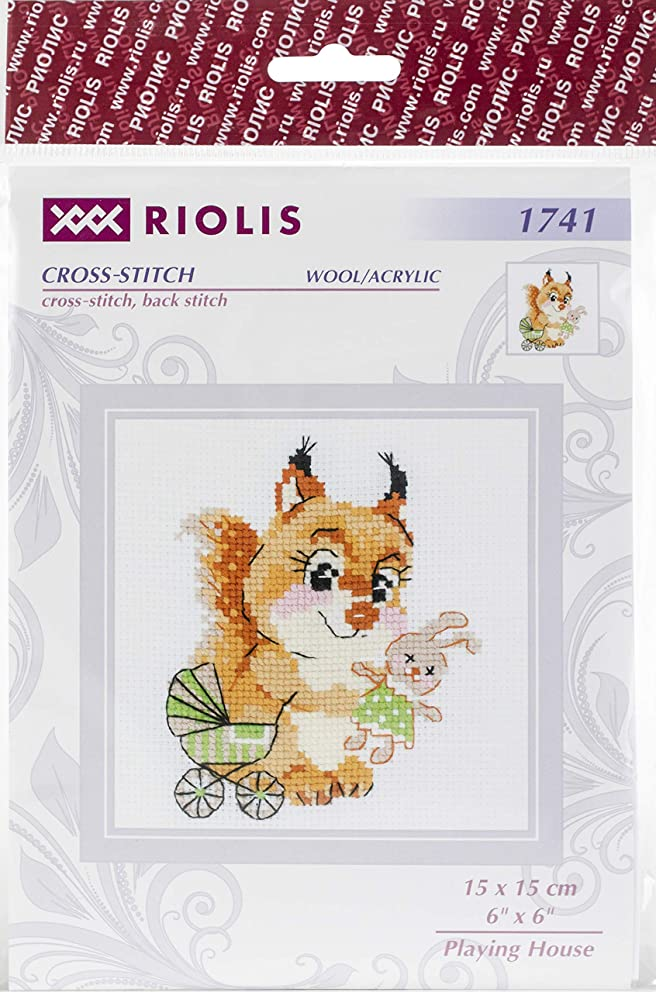 RIOLIS 1741 - Playing House - Counted Cross Stitch Kit 6