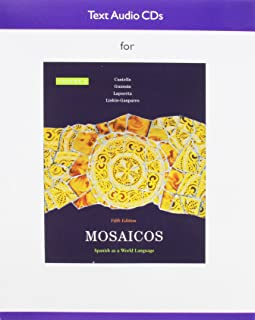 Audio CD for Mosaicos, Volume 2
