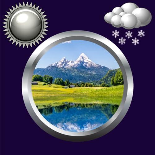 mächtig der welt Naturuhr u.Wetter Widget