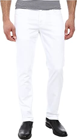 Hudson - Blake Slim Straight in White