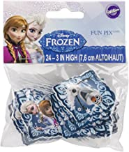 Wilton 1 X Industries 2113-4500 Disney Frozen Fun Pix Cupcake Decor