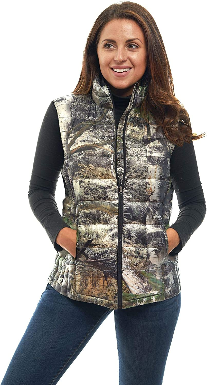 Max 61% OFF TrailCrest Sleeveless Puffer Jacket for Light Full Zipper Many popular brands Women