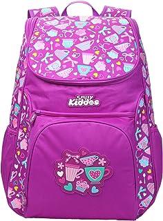 "Smily kiddos   Smily ""u"" Shape Backpack (Purple)   Kids Backpack   School Backpack   Backpack For Kids   Purple Color Back..."