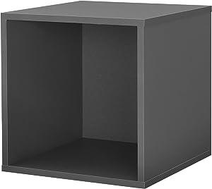[en.casa] Estantería de oficina - Estante de libros - Multicolor - Consola con 6 compartimentos 113 x 85,5 x 30 cm