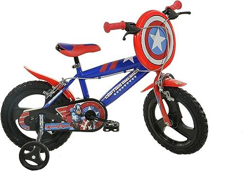 Dino Bikes 414u-ca 35,6cm Captain America fürrad