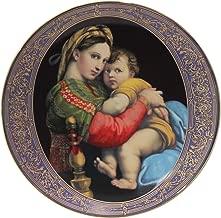 The Hamilton Collection Plate Madonna della Sedia by Raphael Sanzio