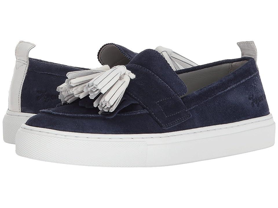 Grenson Tassel Sneaker (Navy) Women