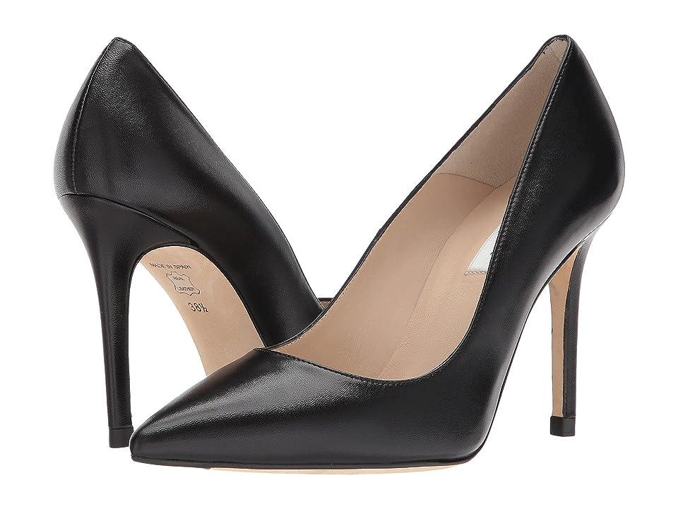 L.K. Bennett Fern (Black Nappa Leather) High Heels