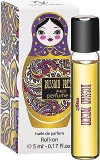 Russian Present Magic Perfume Oil for Women - 5 ml Miniature Rollerball – Perfume as Makeup