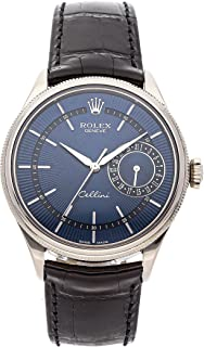 Rolex Cellini Mechanical (Automatic) Blue Dial Mens Watch 50519 (Certified Pre-Owned)