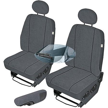 Pok Ter Bus Maßgefertigter Sitzbezug Modellspezifischer Sitzbezug Fahrersitz Beifahrersitz Für Vw T4 Super Qualität Stoffart Vip In Diesem Angebot Grau Muster Im Foto Auto