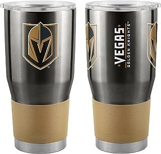 Boelter Brands NHL Vegas Golden Knights Travel Tumbler30oz Ultra, Black, 30 Ounce