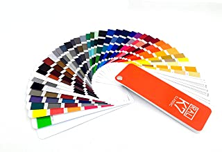 RAL Color Bridge Guide Uncoated,RAL Coated & Uncoated K7 Formula Guide Standard Set,RAL-K7 Metallics Coated Guide 2019,Ultimate 3-in-1 Color Tool: - 213 Color Cards with Numbered Swatches