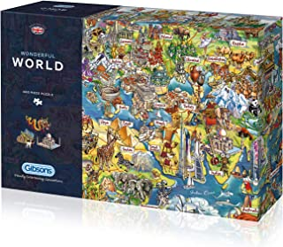 Gibsons Wonderful World Jigsaw Puzzle (1000 Pieces)