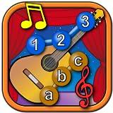 Bambini musicale strumento Iscriviti e collegare i puntini puzzle - imparare le forme di numeri di ABC e contando adatto per bambini piccoli e bambini in giovane età prescolare 2 +