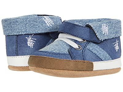 Robeez Grayson First Kicks (Infant) (Denim) Boys Shoes