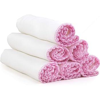 Paños de muselina de algodón suave para exfoliación y eliminación ...