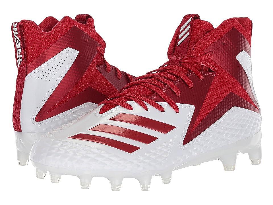 adidas Freak x Carbon Mid (Footwear White/Power Red/Power Red) Men