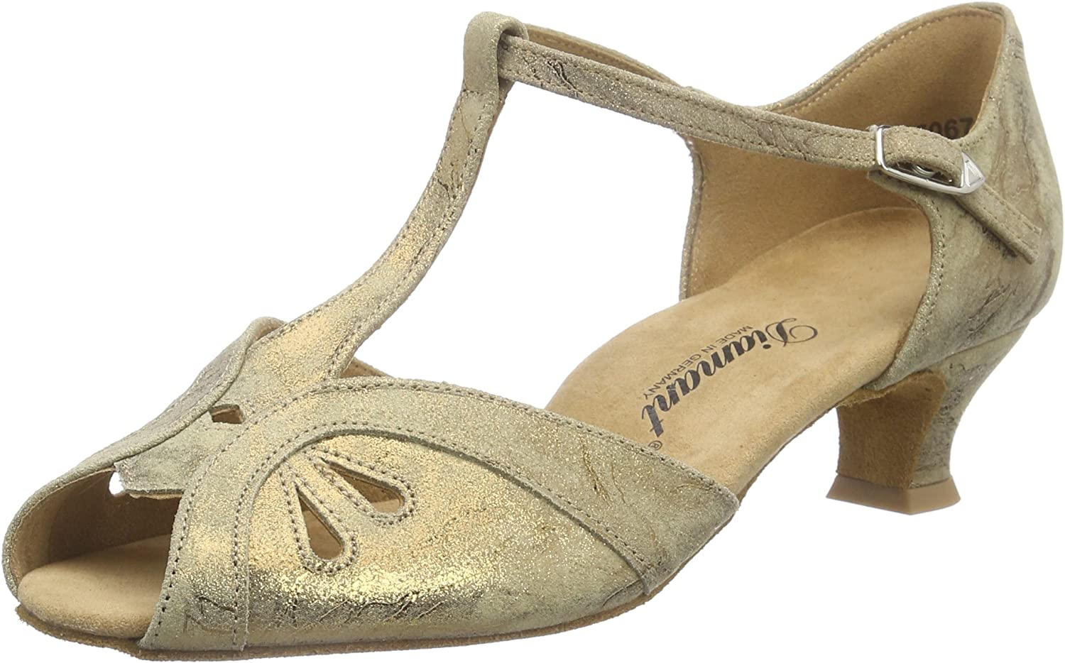 Diamant Damen Tanzschuhe 019-011-311, Women's Ballroom Dance shoes
