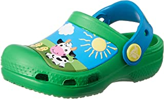 crocs Kids Unisex Creative Barnyard Clogs and Mules