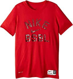 Nike Kids Dry Baseball Tee (Little Kids/Big Kids)