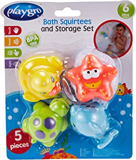 Playgro Bath Squirtees And Storage Set, Piece of 1