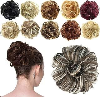 FESHFEN Synthetic Hair Bun Extensions Messy Hair Scrunchies Hair Pieces for Women Hair..