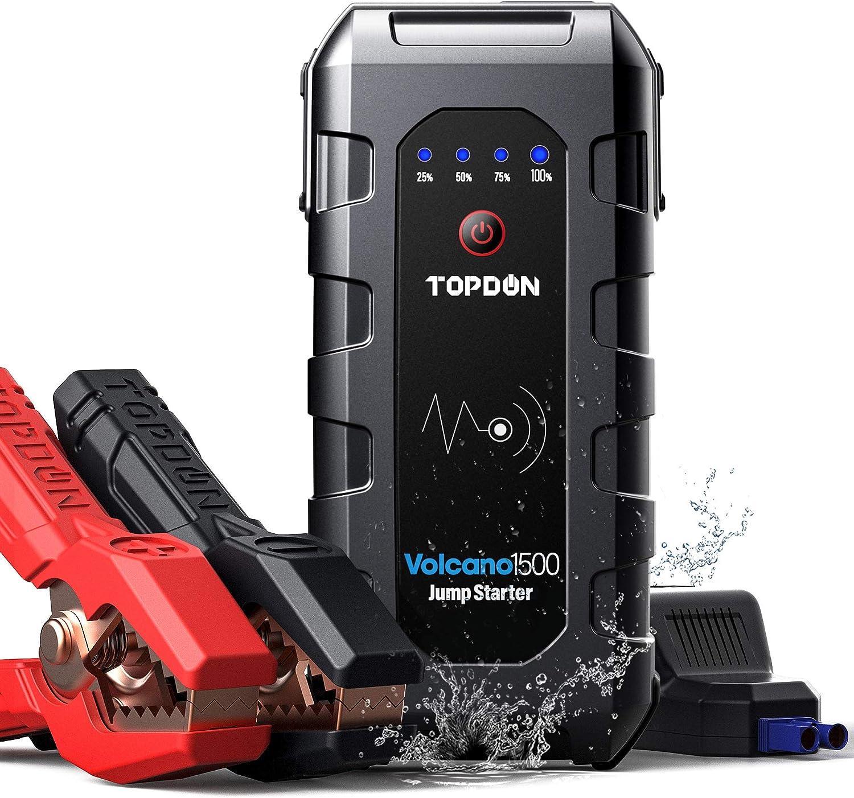Topdon Volacano1500 1500A 12V 18000mAh  Car Jump Starter $60.79 Coupon
