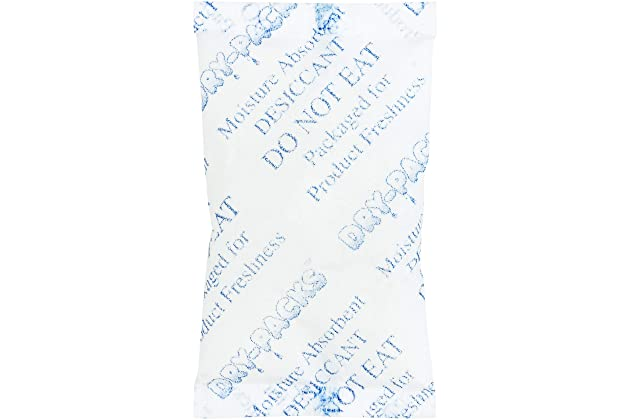718fb2ad6 Silica Gel Desiccants 2-1/4 x 1 1/2 Inches - 25 Silica Gel Packets of 10  Grams Each by Dry-Packs