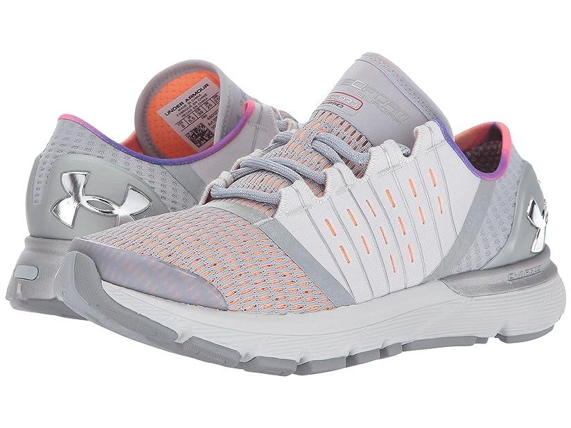 スカープ大学院病気の(アンダーアーマー) UNDER ARMOUR レディースランニングシューズ?スニーカー?靴 Speedform Europa Record Glacier Gray/Afterglow/MSV 8.5 (25.5cm) B - Medium