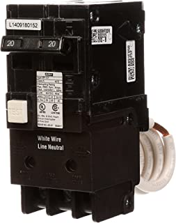 Murray MP220GFA 20 Amp 2-Pole GFCI Circuit Breaker with Self Test & Lockout Feature