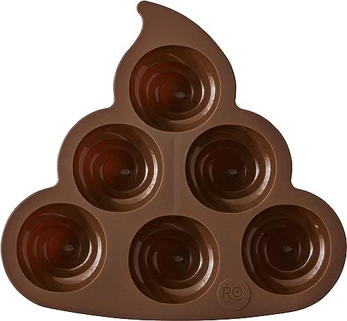 Lily Hoja de alimentos grado Silicona Chocolate Molde Pastel Decoración Herramientas De Cocina CB