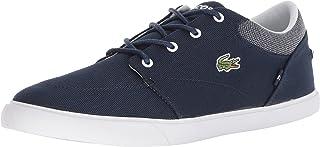 Lacoste Men's Bayliss Sneaker, Navy/White Canvas, 12 Medium US,736Cam0006092