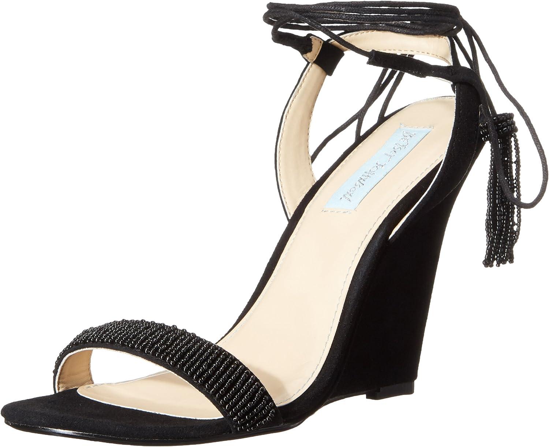 Betsey Johnson bluee Women's SB-Faye Dress Sandal