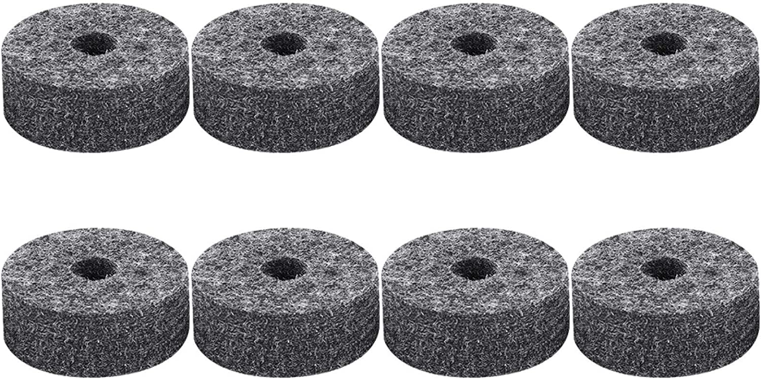 Felt Department store Washer for Drum Cymbal Outstanding Replacement Pads Parts Set