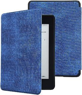kandouren Kindle Paperwhite(2018第10世代防水機能搭載)専用保護カバー PU 超薄型 最軽量の ケース、カバーを閉じ、自動スリープ機能(第十世代)