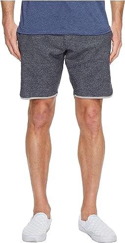 VISSLA - Sofa Surfer Ghost Trees Fleece Shorts 18.5