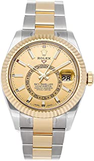 Rolex Sky-Dweller Mechanical (Automatic) Champagne Dial Mens Watch 326933 (Certified Pre-Owned)
