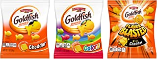 Pepperidge Farm, Goldfish, Crackers, 37.6 oz., Variety Pack, Box, Snack Packs, 40-count