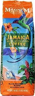 Magnum Exotics Jamaica Blue Mountain Blend Coffee, Whole Bean, 16 Ounce